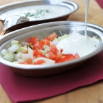103. Mix vegetable raita