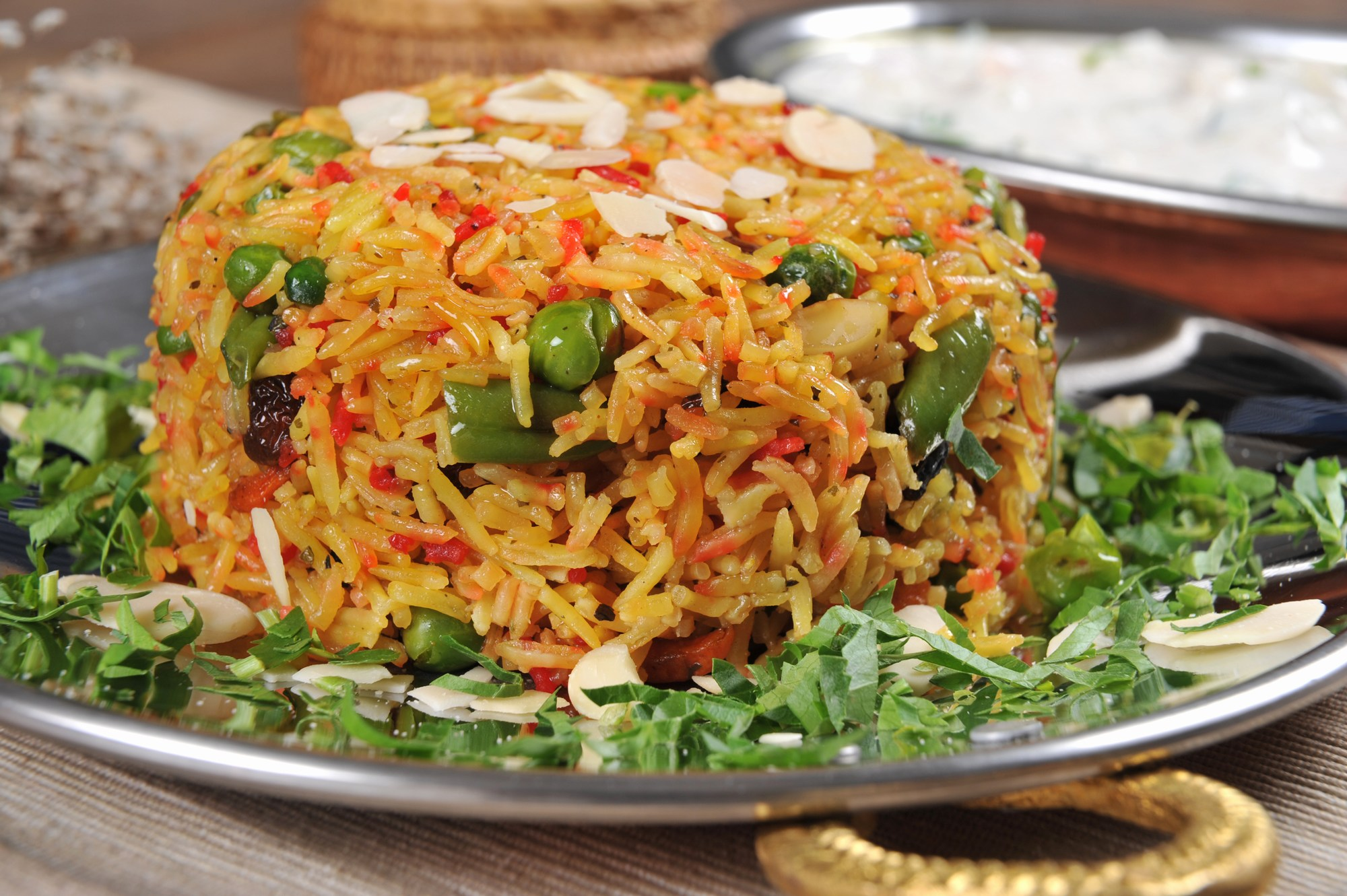Traditional nepali pulao dishes | Maharaja Restaurant