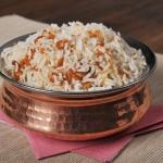115. Basmati onion rice