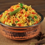 120. Vegetable pulao *vegansko