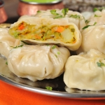 15. Momo vegetarian (10 pieces)