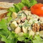 163. Maharaja chicken salad