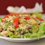 164. Curry chicken salad