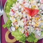 Benarsi vegetarian salad