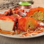 13. Mixed tandoori vegetarian starter (2 osebi)