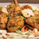 27. Achari chicken tikka (8 pieces)