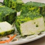 33. Paneer haryali kebab (vegetarijanska jed, 3 kosi)