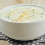 5. Sweet corn soup
