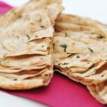 Tandoori laccha paratha *lahko pripravimo vegansko