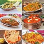 157. Vegetarian thali (2 osebi)