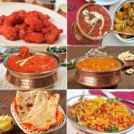158. Non-vegetarian thali (2 osebi)
