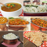 66. Vegetarian thali (for 2 persons)
